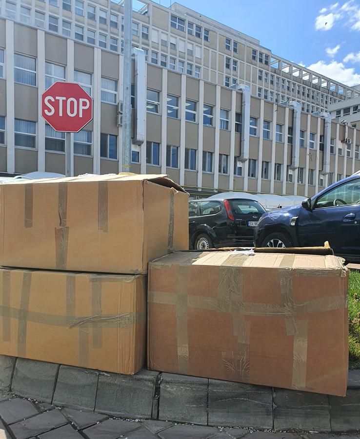 Două noi livrări la Spitalul Județean de Urgență Sfântul Ioan cel Nou din Suceava