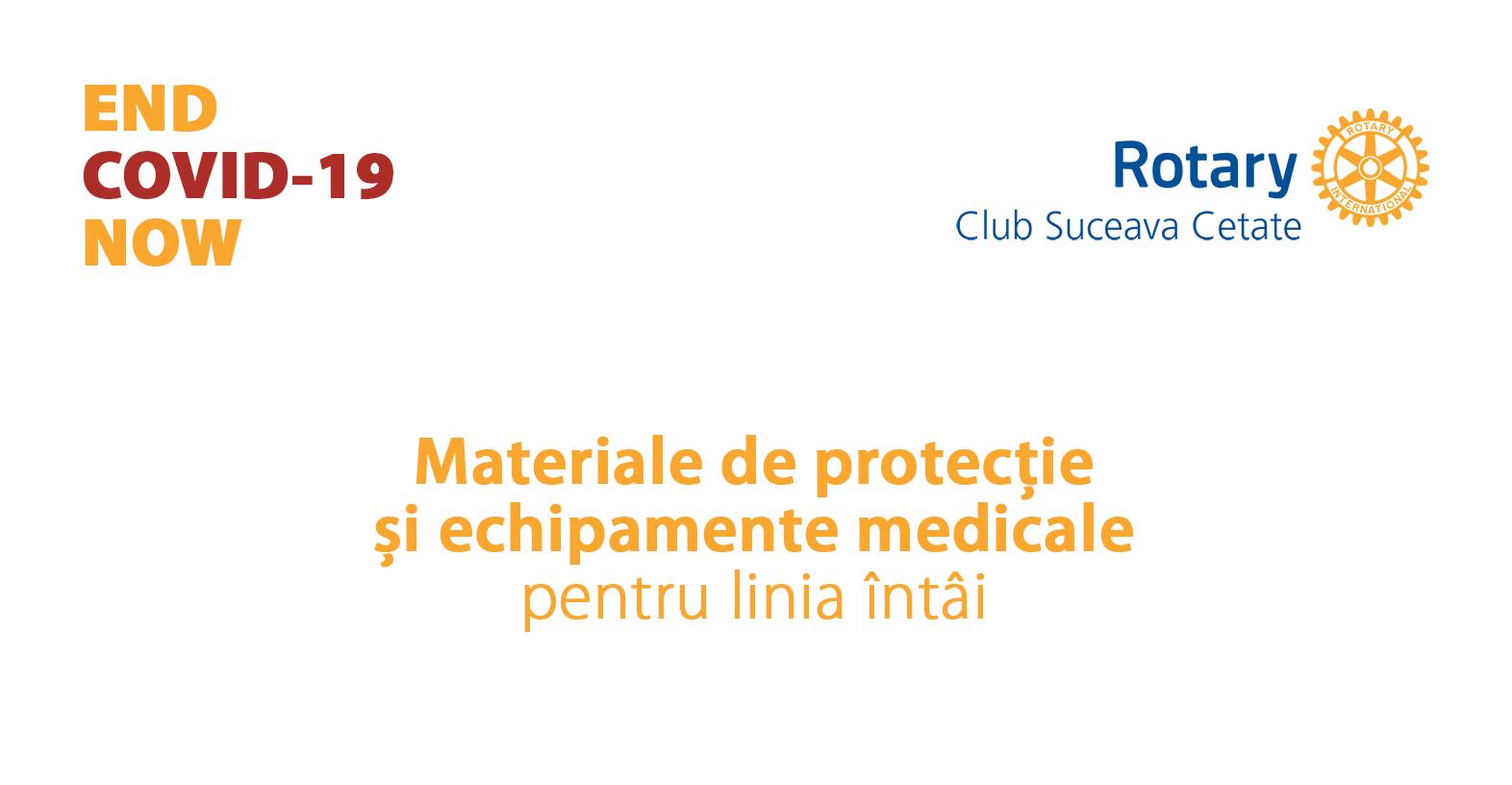 Materiale de protecție și echipamente medicale