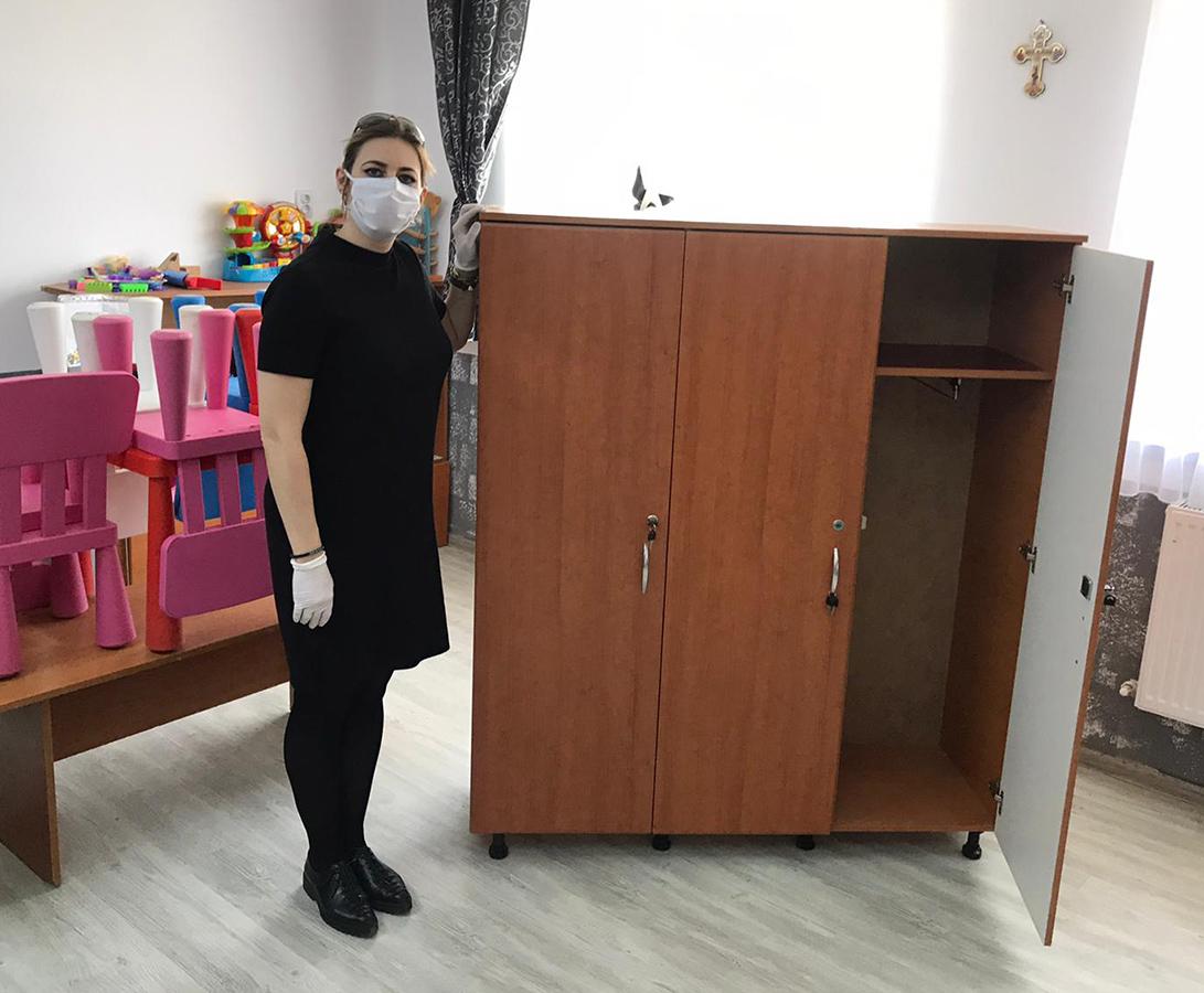 Mobilier pentru Școala Primară Osoi