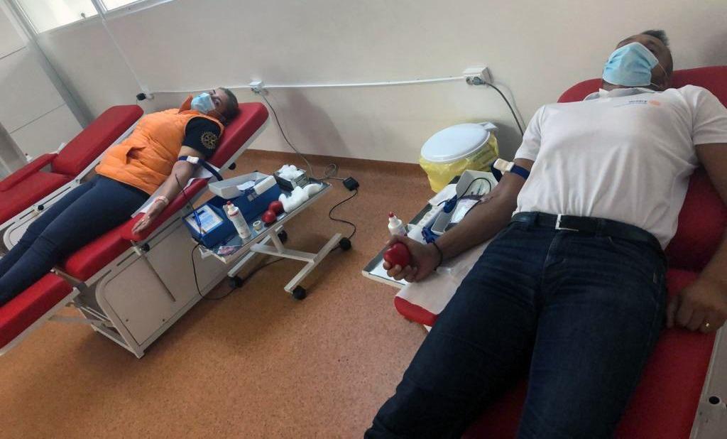 Am donat sânge pentru spitalele din județul Suceava