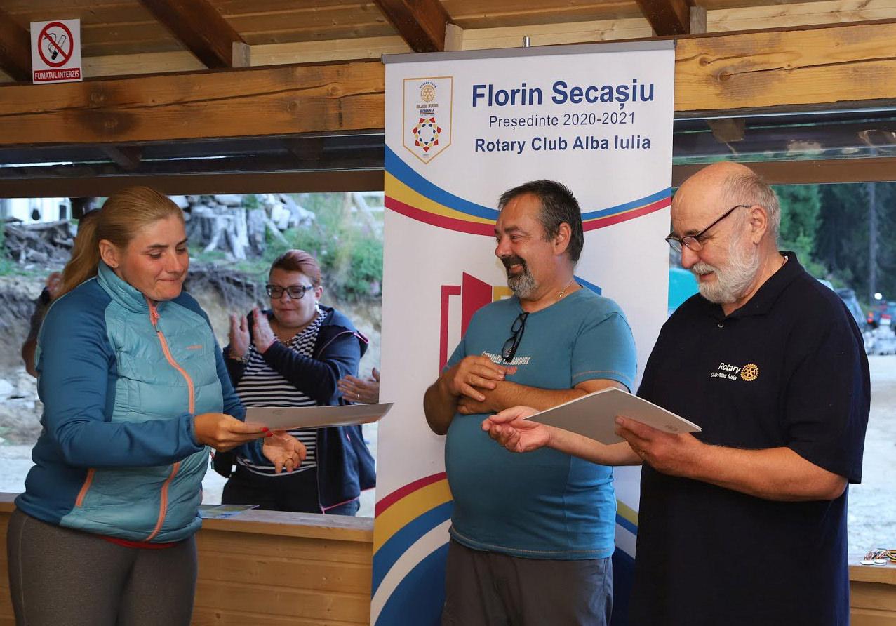 Am participat la concursul de orientare sportivă Luncile Prigoanei
