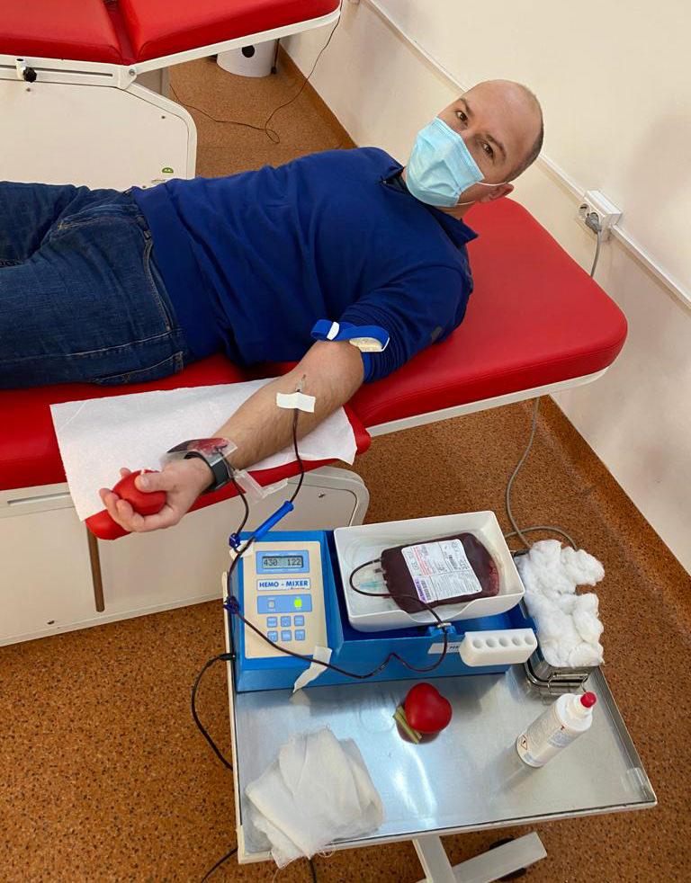 O nouă acțiune de donare de sânge pentru spitalele din județul Suceava