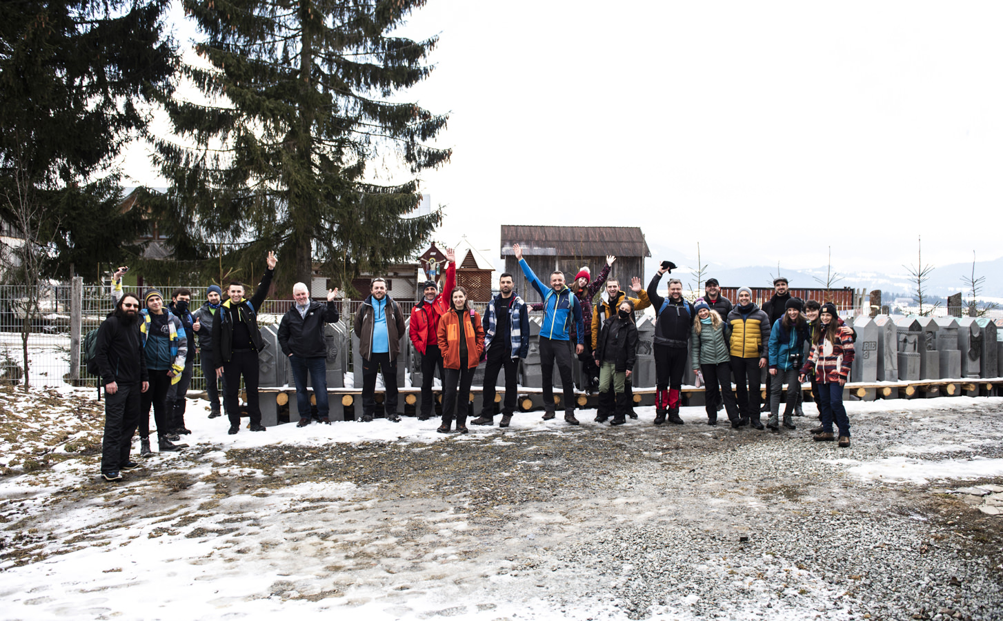 Am adoptat 13 kilometri din Via Transilvanica