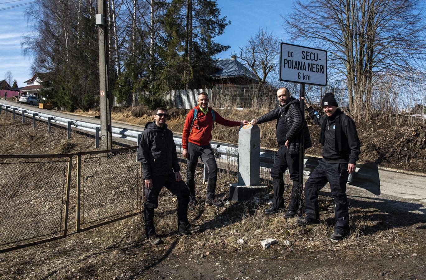 Am parcurs cei 13 kilometri adoptați din Via Transilvanica